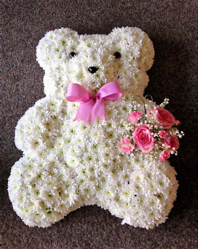 Teddy Bear Floral Arrangement