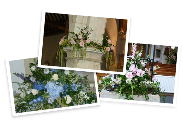 Church Flowers Alton