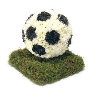Football Themed Floral Arrangement