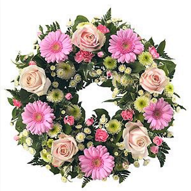 Pink Wreath