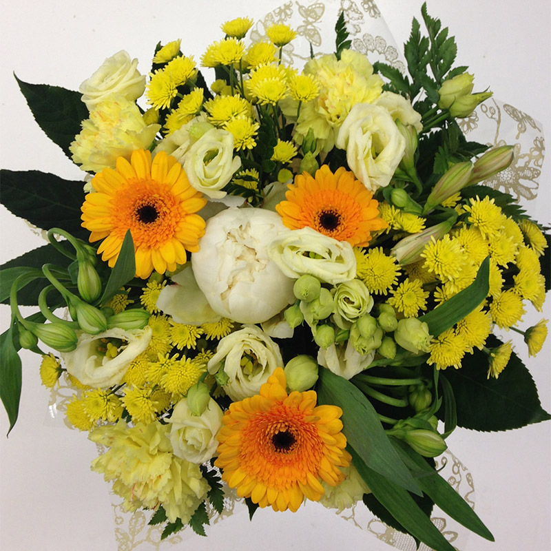 Summer Sunshine Hand Tied Bouquet